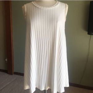 ALTAR'D STATE ribbed cream tunic